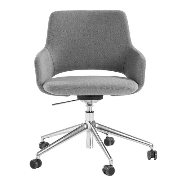 Jima Armchair - 5 Starred, Swivel Base - Height-Adjustable