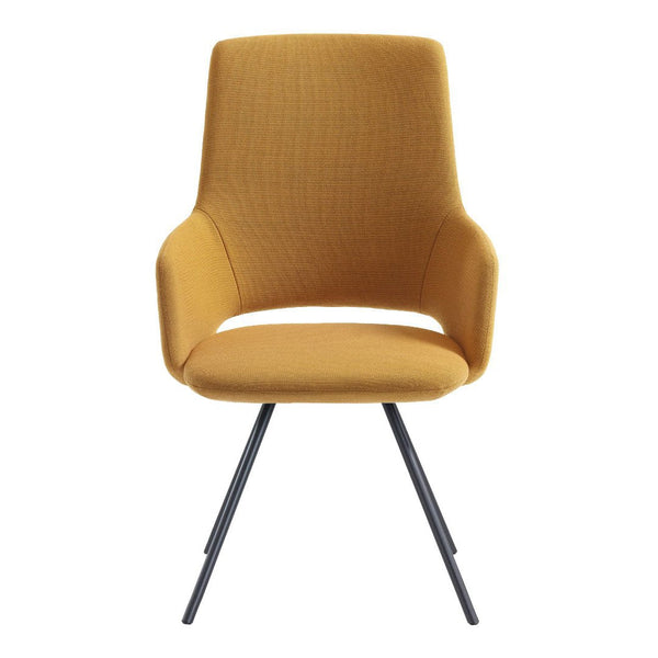 Jima Highback Armchair - 4 Legged, Steel Base