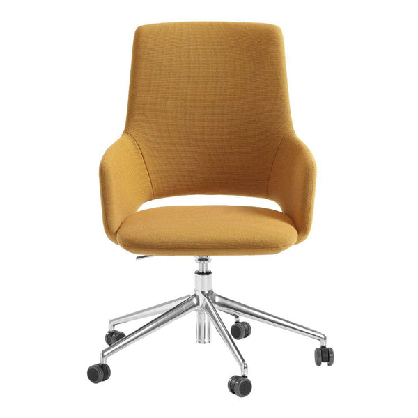 Jima Highback Armchair - 5 Starred, Swivel Base - Height Adjustable