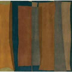 Kathryn Doherty 2006 Rug - Blue/Brown/Green