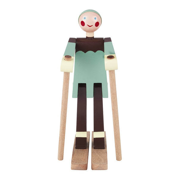 The Skier Boy Figurine