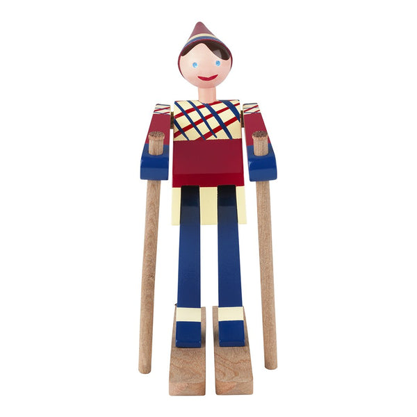 The Skier Girl Figurine