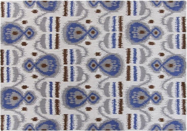 Lina 32005 Rug - White/Grey/Blue/Brown