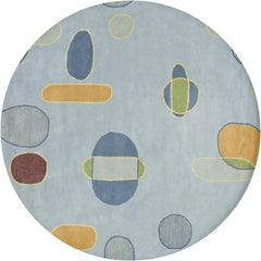 Lost Link 1813 Area Rug - Blue/Orange/Green/Brown