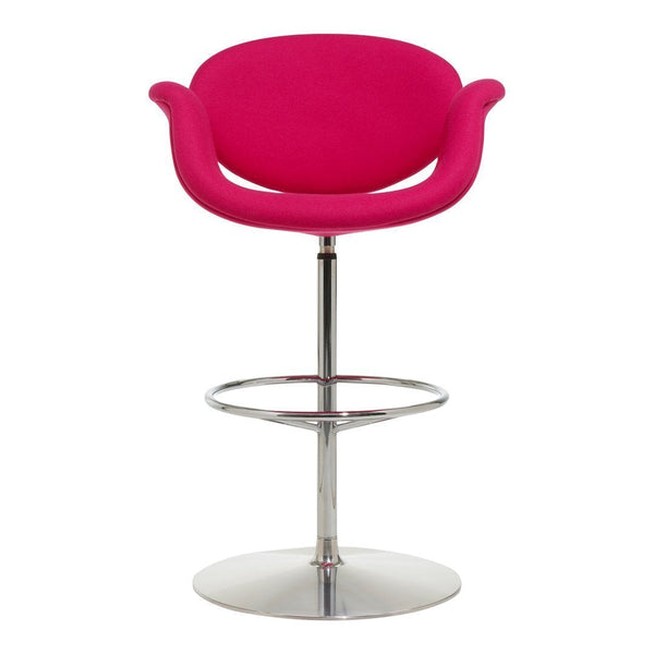Little Tulip Barstool - Disc Base, Swivel w/ Return