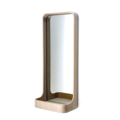 Case Furniture Loop Wall Mirror - Oak