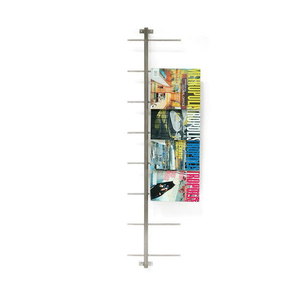 Stainless Steel Magazine Racks