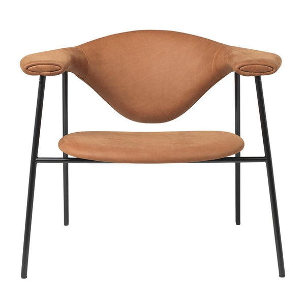 Masculo Lounge Chair - 4 Legs