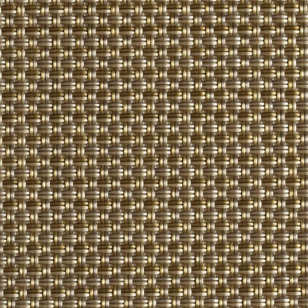 Chilewich Mini Basketweave Tete-A-Tete - New Gold