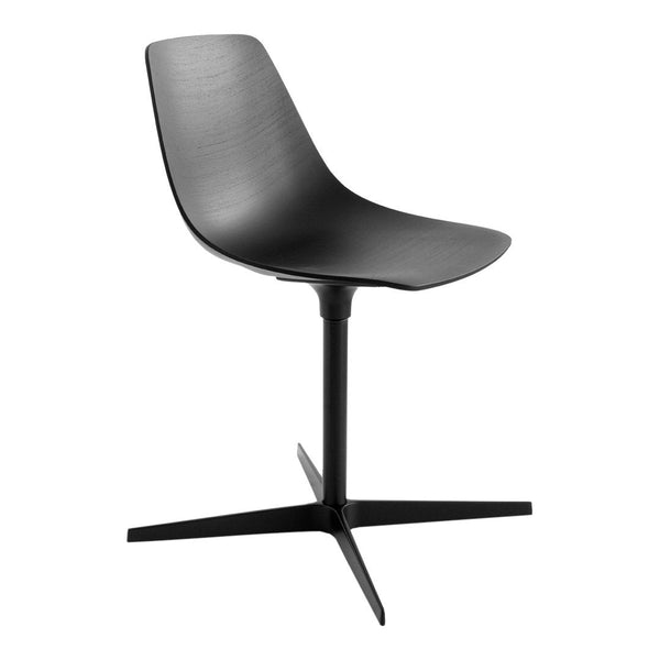 Miunn Dining Chair - Cross Base, Unupholstered