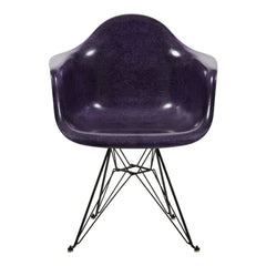 Fiberglass Arm Shell Chair - Eiffel Base