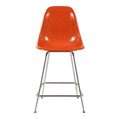 Fiberglass Side Shell Counter Stool - H Base