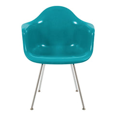 Fiberglass Arm Shell Chair - H Base