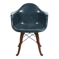Fiberglass Arm Shell Chair - Prince Charles Base