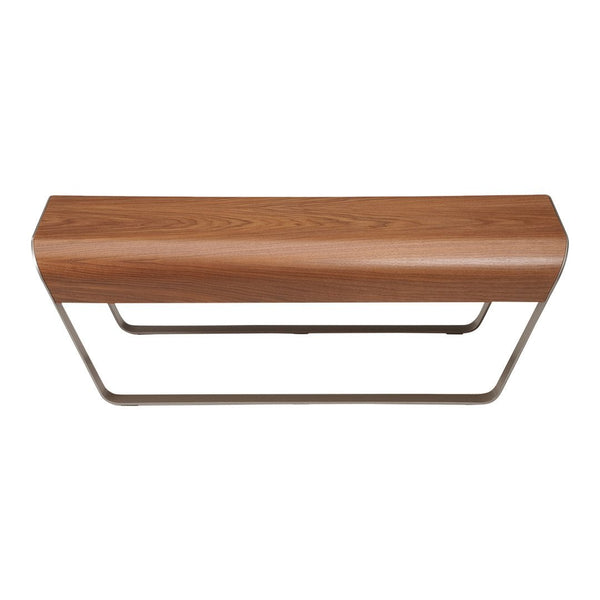 Momo Bench - Walnut