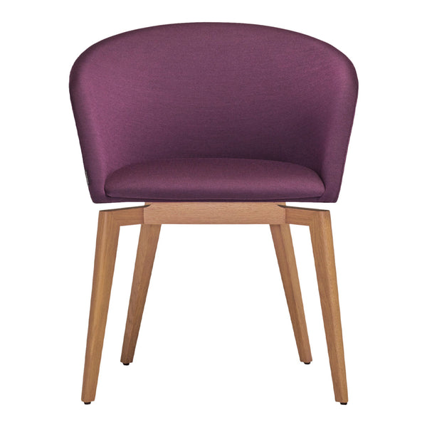 Moon 663RMD4 Chair - Oak Base