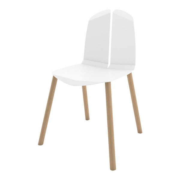 Noa Chair - White / Natural Oak - Showroom