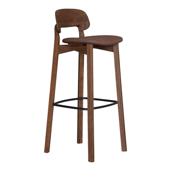 Nonoto Bar Stool - Close Upholstery