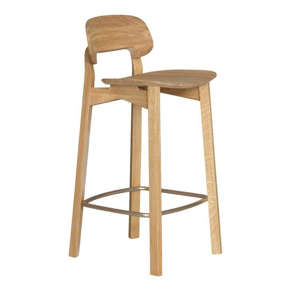 Nonoto Bar Stool - Unupholstered