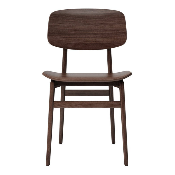 NY11 Dining Chair - Oak - Dark Stained - Outlet