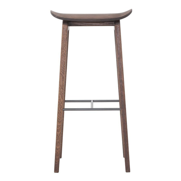 NY11 Counter Stool - Walnut Stained - Outlet
