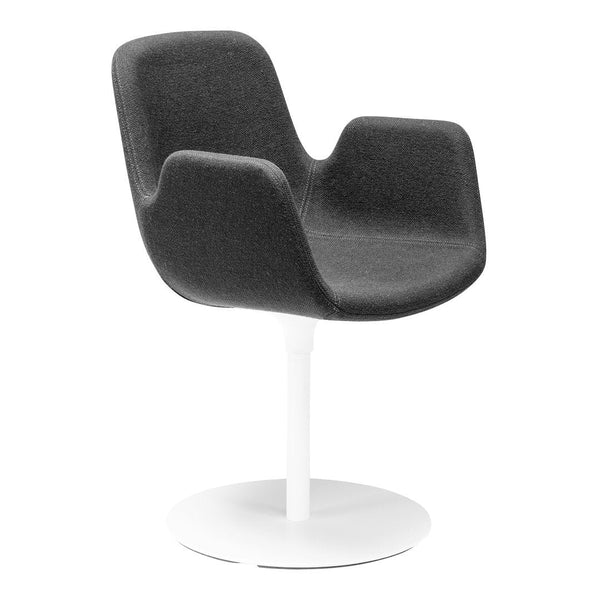 Pass Office Chair, Round Base - Upholstered