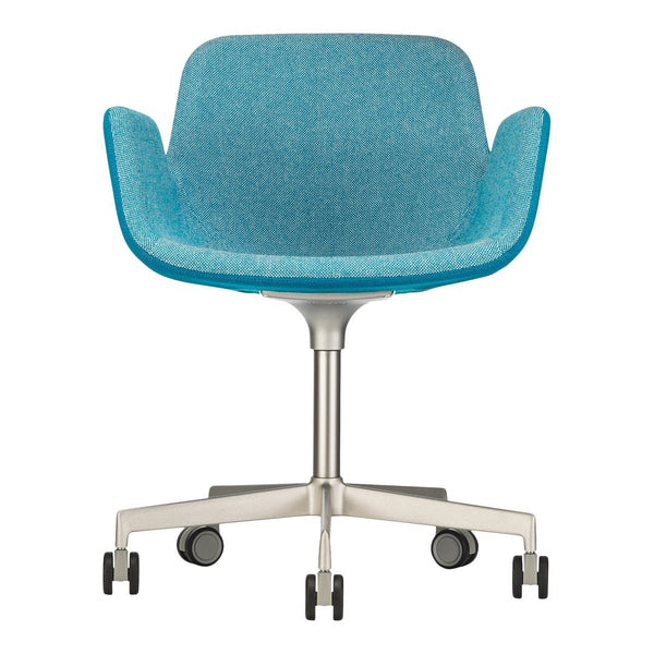 Pass Office Chair, Swivel Base w/ Castors - Upholstered