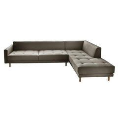 Metropolis 3-Seat Sofa + Right Chaise Longue