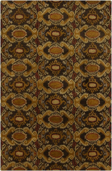 Rupec 39622 Rug - Brown/Gold/Maroon/Grey