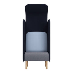 August Sound-Absorbing Armchair - Extra Tall Back