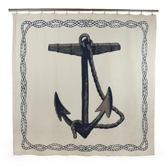 Thomas Paul Anchor Shower Curtain