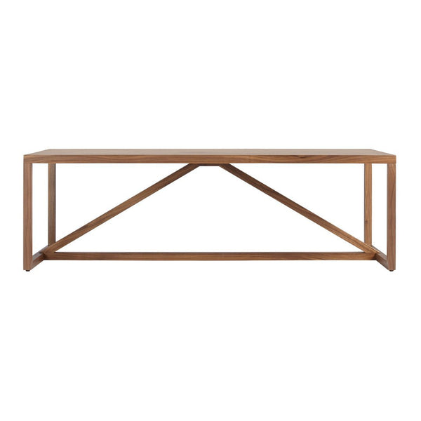 Strut Square Wood Coffee Table