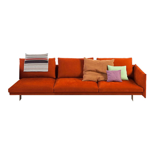 "Deep 3-Seater Sofa w/ Right Arm (114.5"" W)"