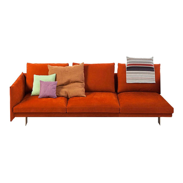 "Deep 3-Seater Sofa w/ Left Arm (91"" W)"