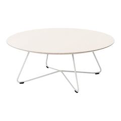 Scoop Round Sofa Table - Metal Top