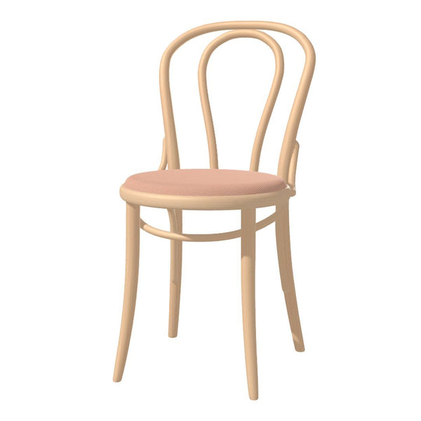 Chair 18 - Seat Upholstered - Beech Frame