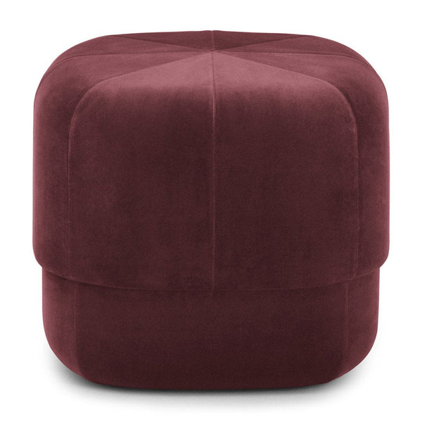 Circus Pouf in Velour - OVERSTOCK
