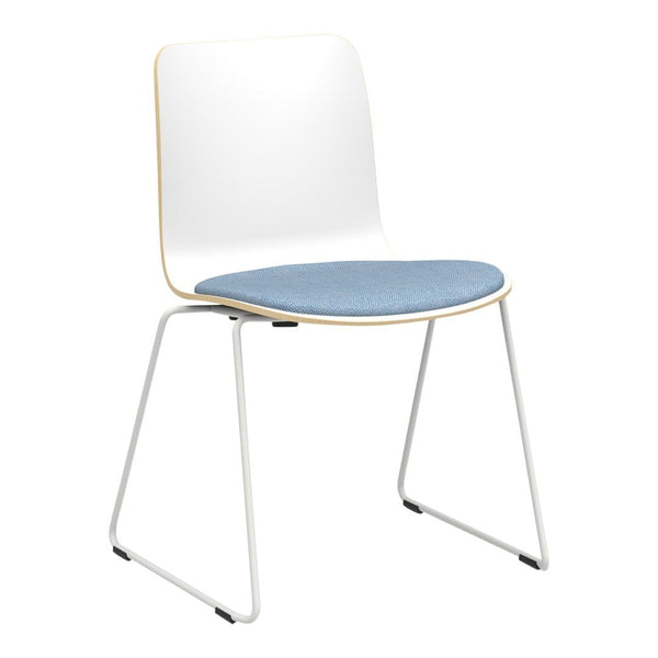 Sola Chair - Sled Base - Seat Upholstered