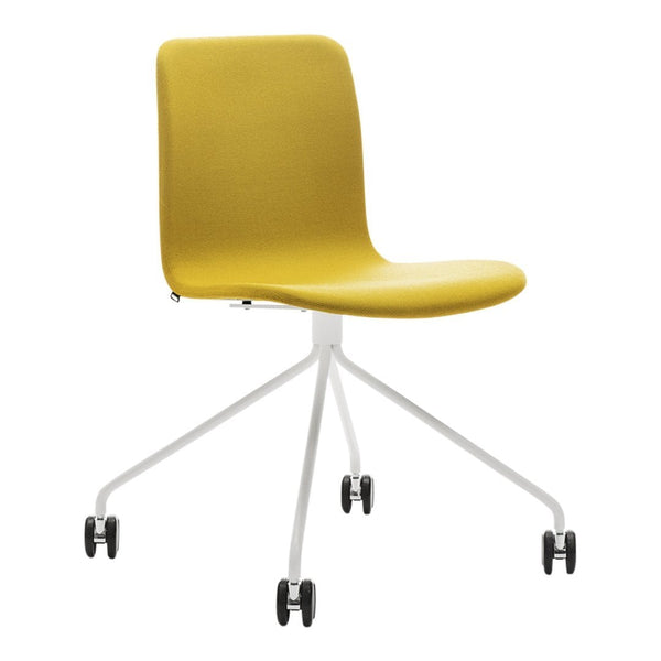 Sola Chair - 4 Leg w/ Castors - Seat & Backrest Upholstered