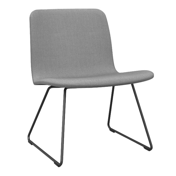 Sola Lounge Chair - Sled Base, Low Back