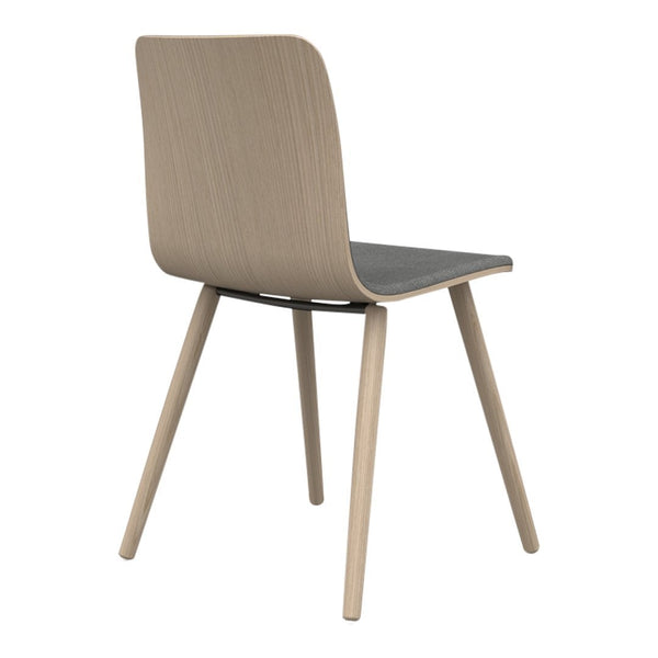 Sola Chair - 4 Leg Wood Base - Seat & Backrest Upholstered