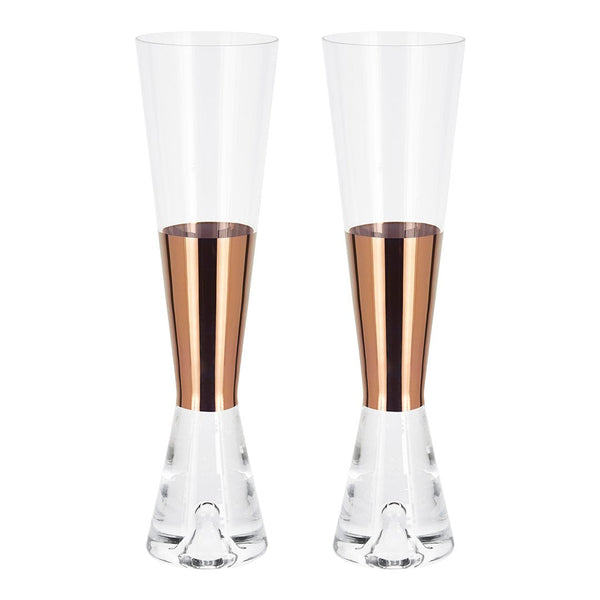 Tank Champagne Glass - Set of 2