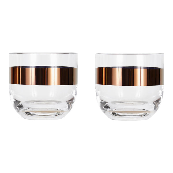 Tank Whiskey Glasses - Set of 2