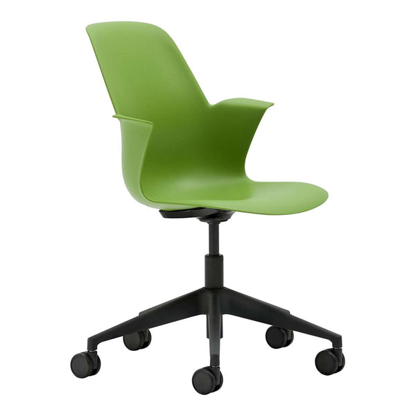 Node High-Back Desk Chair - Five Star Base
