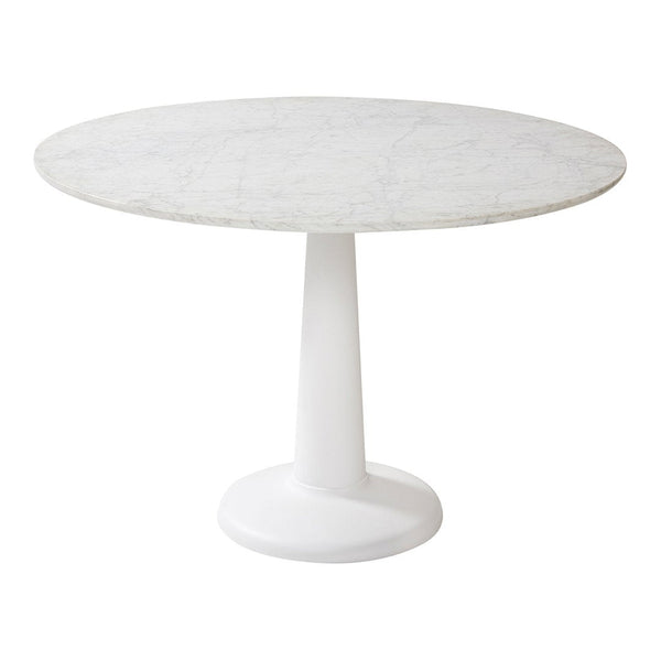 Tolix G Dining Table Marble Top - Indoor