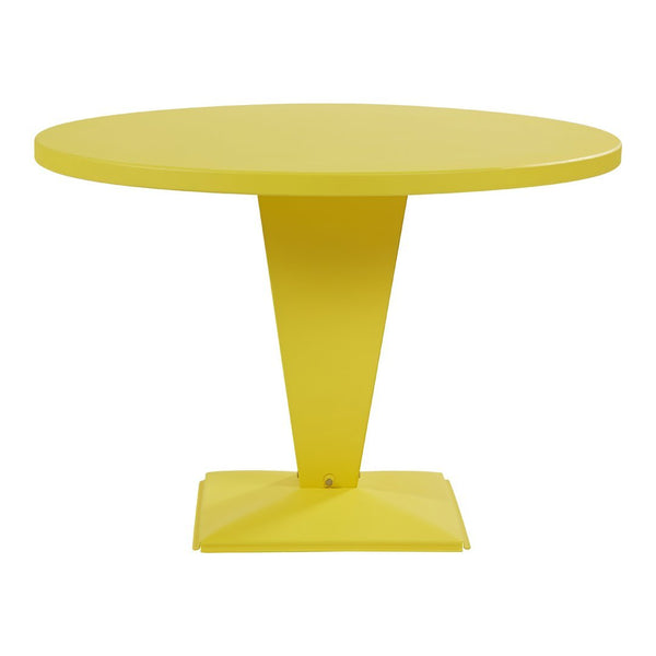 Tolix Kub Cafe Table - Round - Outdoor