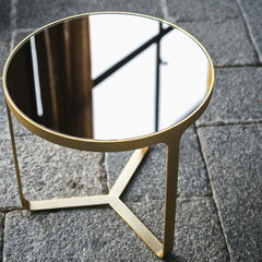 Cage Side Table Round