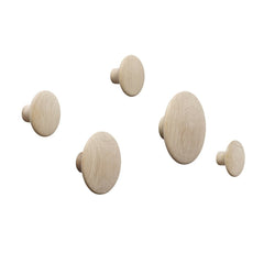 The Dots Coat Hooks - Set of 5