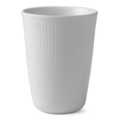 White Fluted Plain Thermal Cups & Mugs