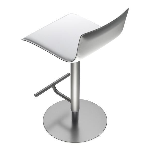 Phenomenal Thin Bar Stool Leather Squirreltailoven Fun Painted Chair Ideas Images Squirreltailovenorg